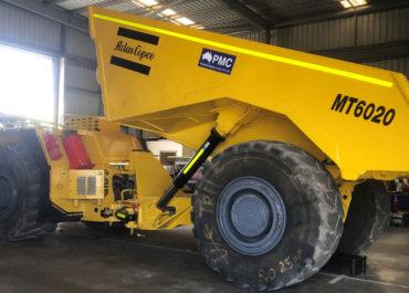 MT6020 DUMP TRUCKS X 2 (TR003 & TR004)